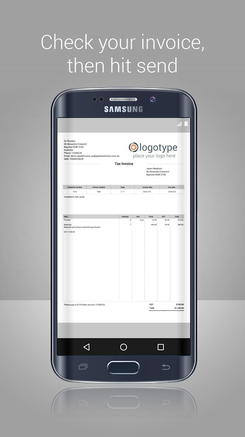 Invoice App - Invoicing Generator & Estimate Maker - Android Apps