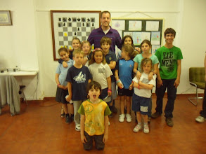 Photo: Visita de Paco Vallejo a la Escuela del Club Escacs Son Dameto 03