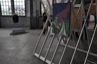 Photo: Benjamin Degan of American Contemporary (foreground)