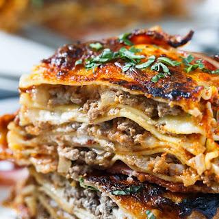 Bacon Wrapped Lasagna.