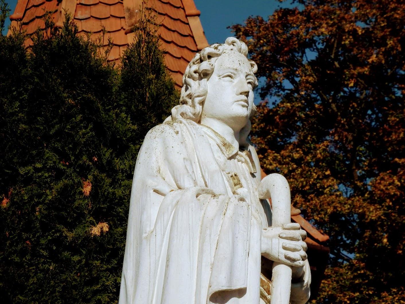 Chernelházadamonya - Szent Vendel-szobor (Vendel-kereszt)