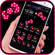 App Bow knot Pink dot solemn theme APK for Windows Phone