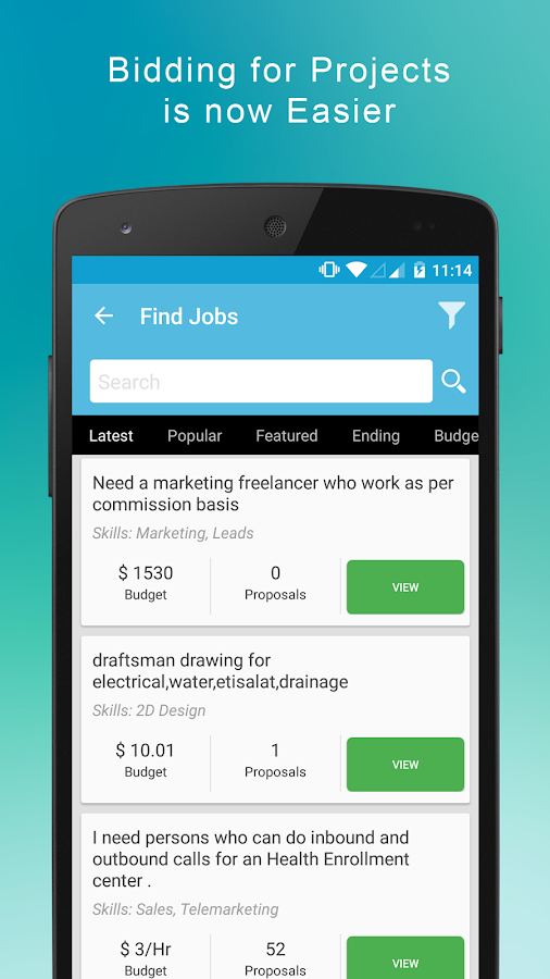 search jobs hire lancer android apps on google play search jobs hire lancer screenshot