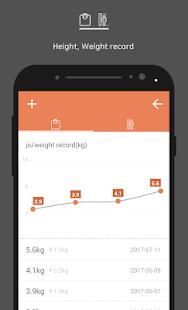 Breastfeeding Note - BeBe Tracker - náhled