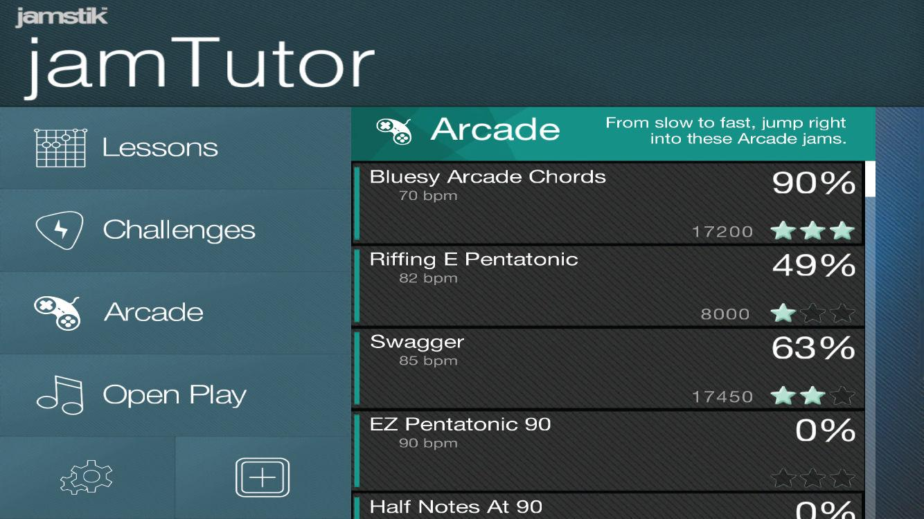 jamTutor- screenshot