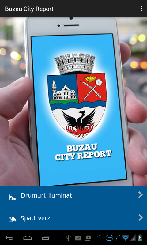 Buzau City Report- screenshot
