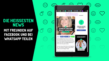 Screenshot of InTouch - Promi-News für Dich!