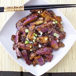 Szechuan Eggplants.