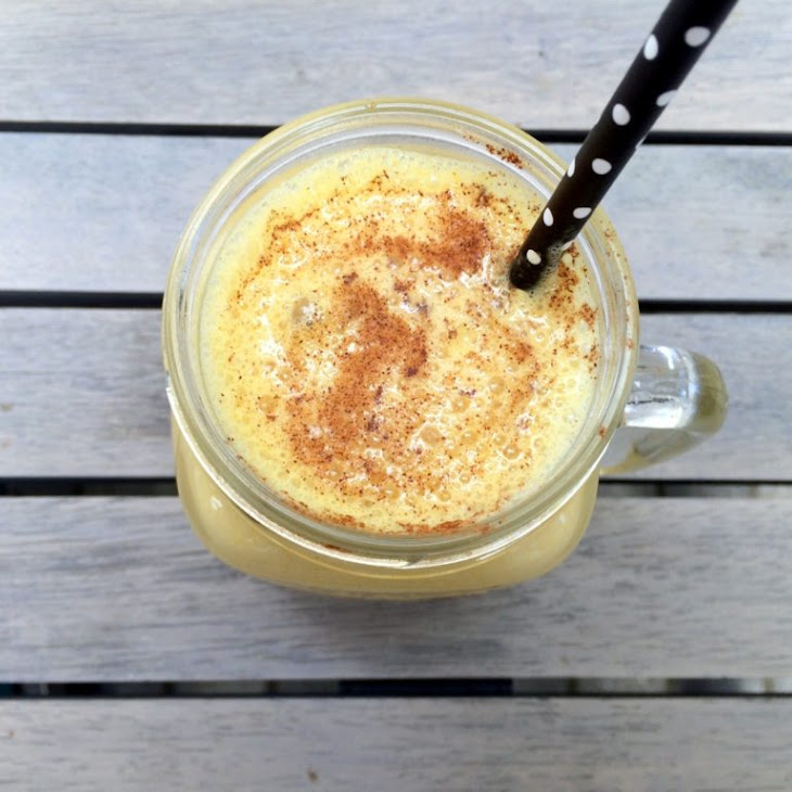Iced Ginger Turmeric Smoothie