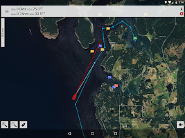 Screenshot of MX Mariner - Marine Charts