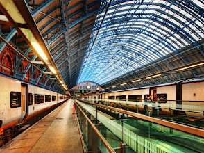Photo: The Train Station - from Trey Ratcliff at http://www.StuckInCustoms.com