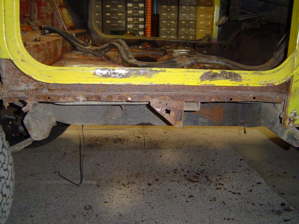 Body Work Tub Rebuild Fj40 Land Cruisers