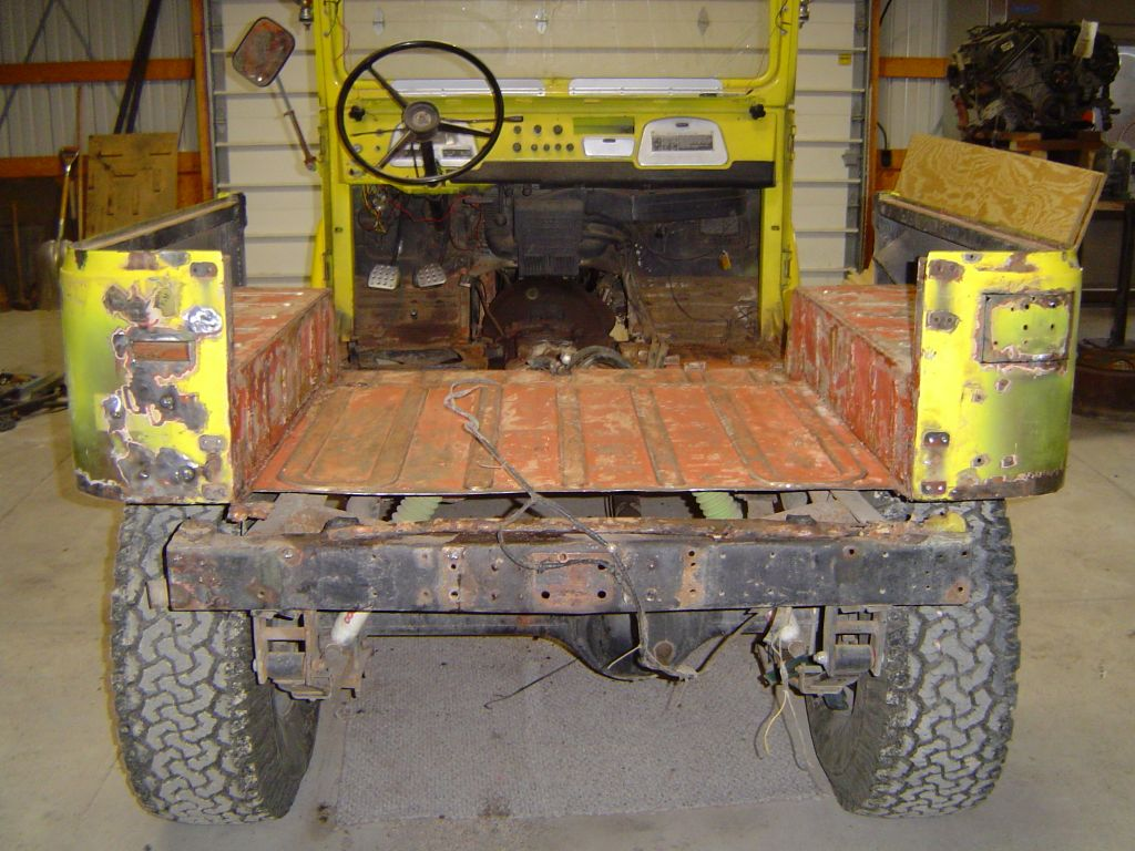 Body Work Tub Rebuild Fj40 Land Cruisers
