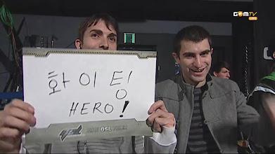 Photo: 화이팅 HERO!
