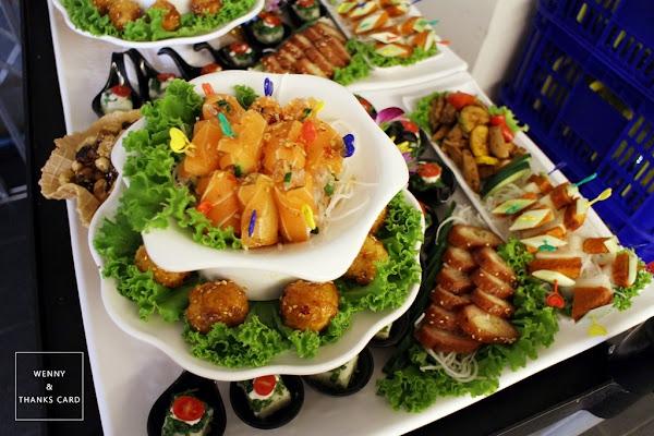 台南天心岩蔬食婚禮,打造閃閃星空宴會廳