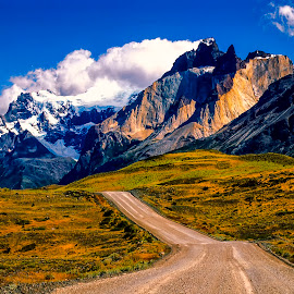 Torres del Paine by Stanley P. - Landscapes Mountains & Hills