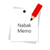 NabakMemo (Schedule & Memo)
