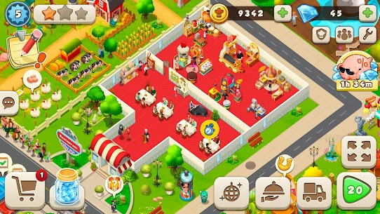 Tasty Town MOD APK 1.17.17 [Fast Cooking] 7