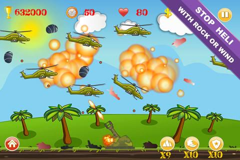 Code Triche Heli Invasion mod apk screenshots 4