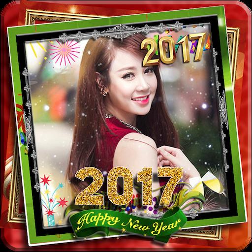 Happy New Year Frame 2017