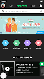 JOOX Music APK screenshot thumbnail 1