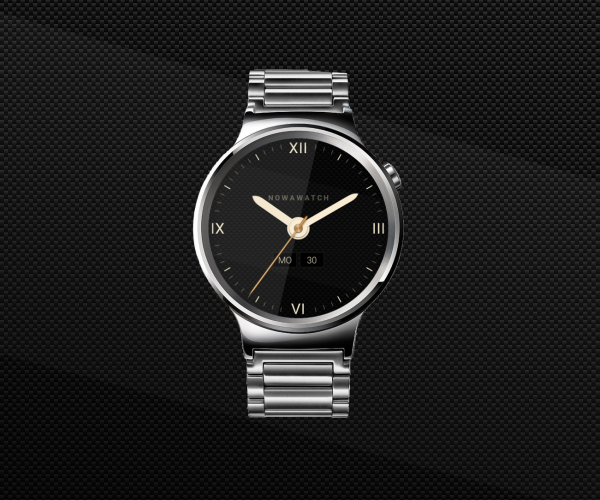NowaWatch Classic Watch Face- screenshot
