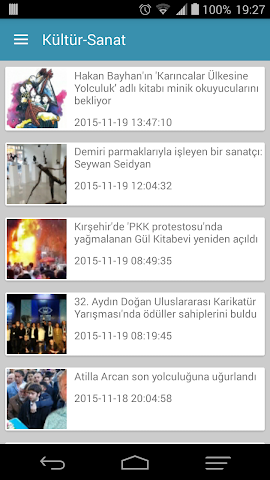 android t24 haber Screenshot 5