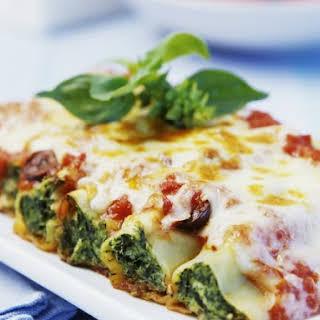 Stuffed Pasta Cannelloni Recipes.