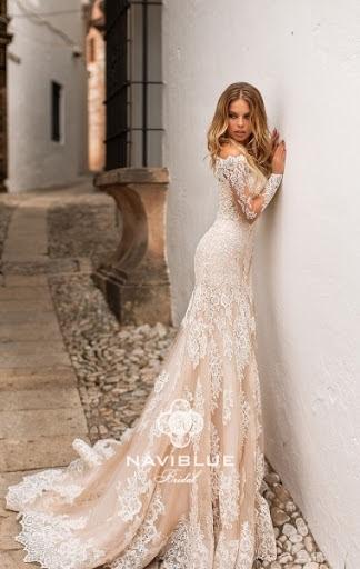 5451b387c65b6b Свадебное платье Jacquelyn 17311 от Naviblue Bridal: цена 102100 руб ...