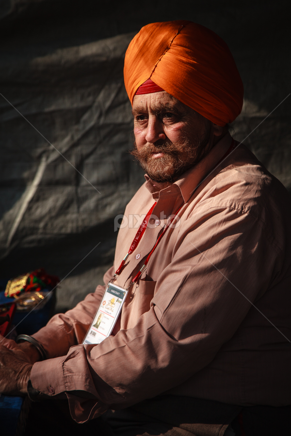 The Master Craftsman by Kaushik Ghosh - People Portraits of Men ( vertical, 2013, craftsman, punjabi, people, man )