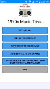 1970s Music Trivia - náhled