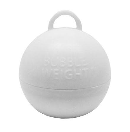 Ballongtyngd - Klot vit