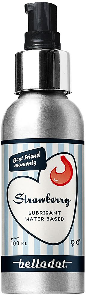Belladot strawberry 100ml Personal lubricant
