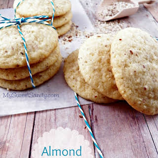 Almond Cookies.