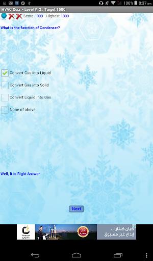 HVAC Quiz modavailable screenshots 9