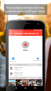 Background Video Recorder Pro Screenshot