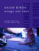 Snow Birds Tour - Poster item