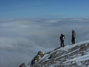 Photo: Above the clouds
