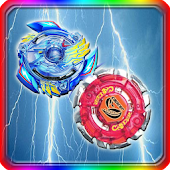 Power Beyblade Spin Touch Pop