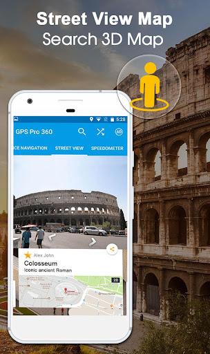 GPS Navigation: GPS Route, Live Maps & Street View 1.1.1 screenshots 5
