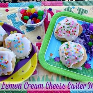Lemon Cream Cheese Easter Buns