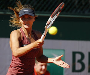 Zanevska mag even dromen in tweede set maar verliest dan toch van voormalig nummer vier van de wereld