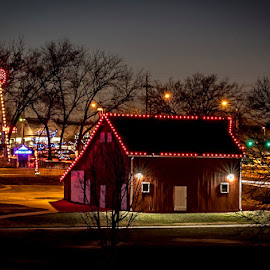 by Jackie Eatinger - City,  Street & Park  Night
