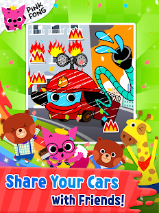 Cars Coloring Book PINKFONG - Android Apps on Google Play