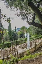 Photo: View of the private gardens and from Villa d'Este in Tivoli, Lazio, Italy