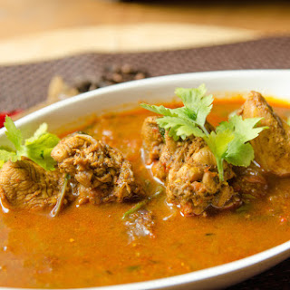 Chicken Curry With Fresh Grinded Masala.