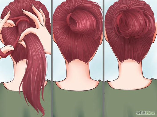 Hairstyles Braid and Ponytail
