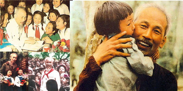 Lúc sinh thời, Trung thu năm nào Bác Hồ cũng chung vui cùng các cháu thiếu nhi