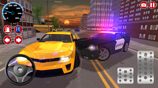 Real Police Car Driving Simulator: Car Games 2020 screenshots 4