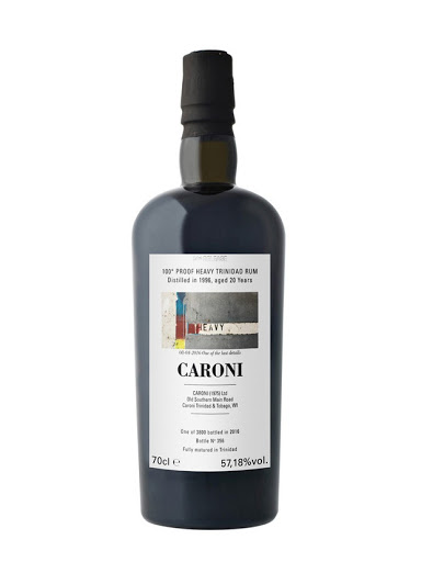 Caroni 1996 - 100 proof - 20 ans - 57,18% - Velier - 2016